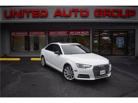 2017 Audi A4 for sale at United Auto Group in Putnam CT