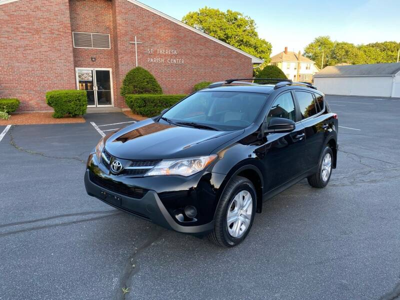 2013 Toyota RAV4 for sale at New England Cars in Attleboro MA