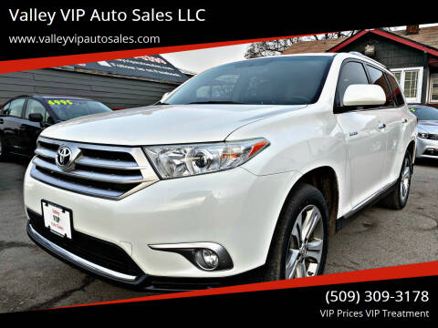 2011 Toyota Highlander for sale at Valley VIP Auto Sales LLC in Spokane Valley WA