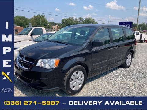 2015 Dodge Grand Caravan for sale at Impex Auto Sales in Greensboro NC
