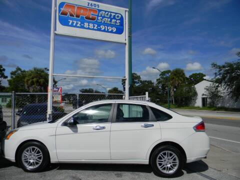 2011 Ford Focus for sale at APC Auto Sales in Fort Pierce FL