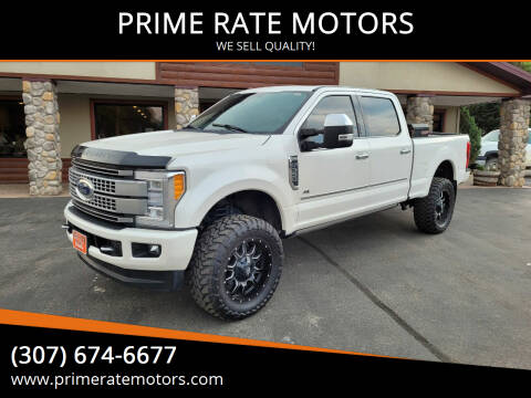 2017 Ford F-350 Super Duty for sale at PRIME RATE MOTORS in Sheridan WY