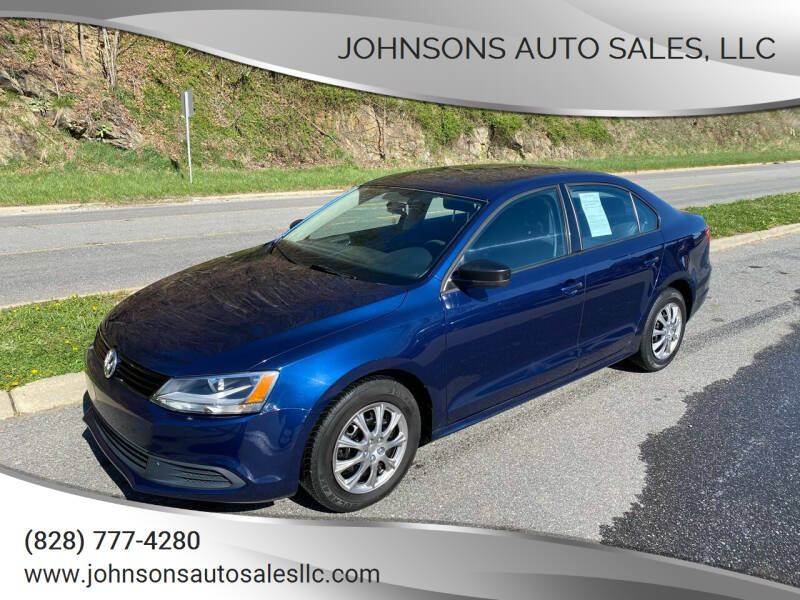 2013 Volkswagen Jetta for sale at Johnsons Auto Sales, LLC in Marshall NC