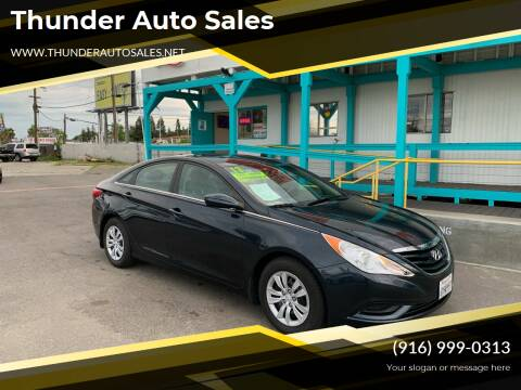 2013 Hyundai Sonata for sale at Thunder Auto Sales in Sacramento CA