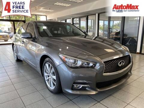 2015 Infiniti Q50 for sale at Auto Max in Hollywood FL