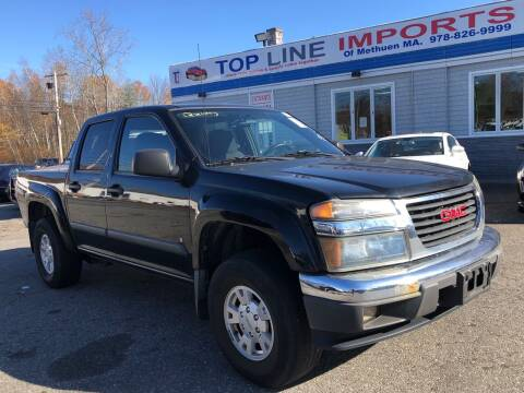 2007 GMC Canyon for sale at Top Line Import of Methuen in Methuen MA