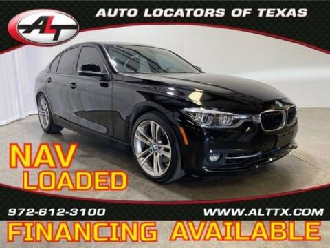 2016 BMW 3 Series for sale at AUTO LOCATORS OF TEXAS in Plano TX