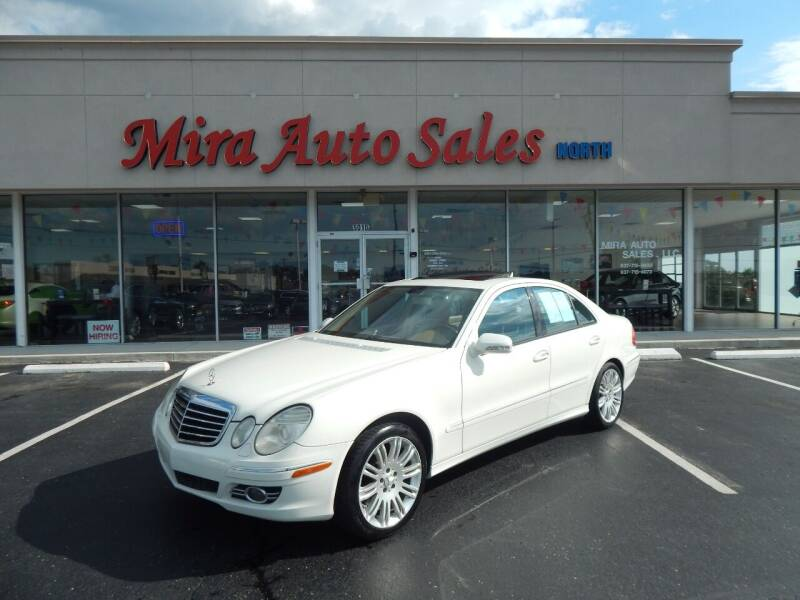 2008 Mercedes-Benz E-Class for sale at Mira Auto Sales in Dayton OH