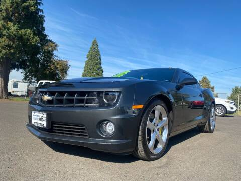 2013 Chevrolet Camaro for sale at Pacific Auto LLC in Woodburn OR