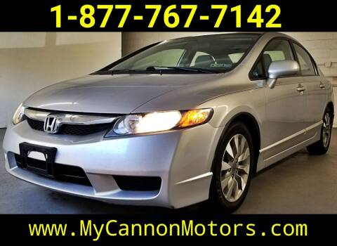 2010 Honda Civic for sale at Cannon Motors in Silverdale PA