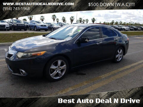 2011 Acura TSX for sale at Best Auto Deal N Drive in Hollywood FL