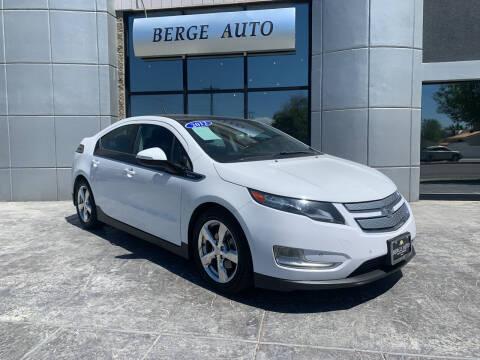 2012 Chevrolet Volt for sale at Berge Auto in Orem UT