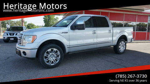 2010 Ford F-150 for sale at Heritage Motors in Topeka KS