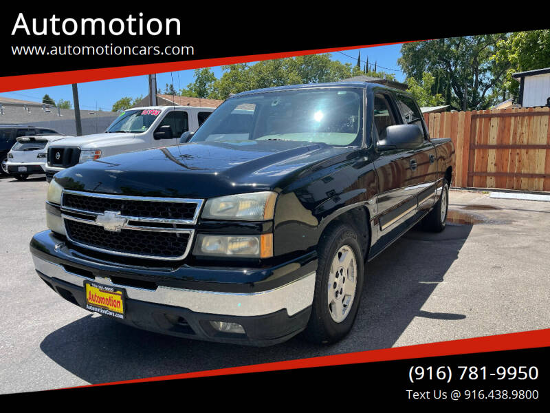 2007 Chevrolet Silverado 1500 Classic for sale at Automotion in Roseville CA