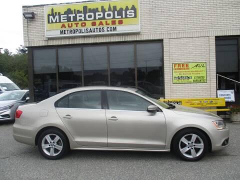2012 Volkswagen Jetta for sale at Metropolis Auto Sales in Pelham NH