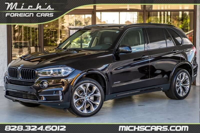 2014 BMW X5 for sale at Mich's Foreign Cars in Hickory NC