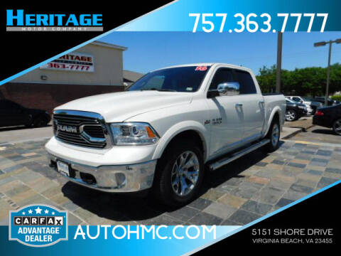 2016 RAM Ram Pickup 1500 for sale at Heritage Motor Company in Virginia Beach VA