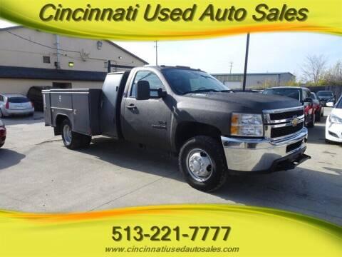 2011 Chevrolet Silverado 3500HD CC for sale at Cincinnati Used Auto Sales in Cincinnati OH