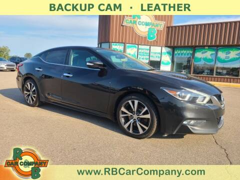 2017 Nissan Maxima for sale at R & B Car Co in Warsaw IN