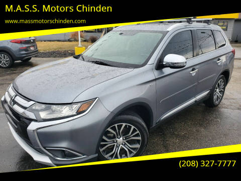 2016 Mitsubishi Outlander for sale at M.A.S.S. Motors Chinden in Garden City ID