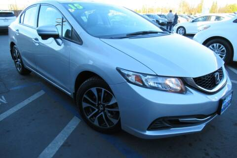 2015 Honda Civic for sale at Choice Auto & Truck in Sacramento CA