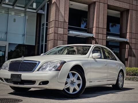 2006 Maybach 57 for sale at FALCON AUTO BROKERS LLC in Orlando FL