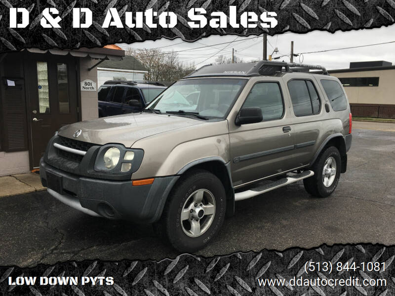 2004 Nissan Xterra for sale at D & D Auto Sales in Hamilton OH