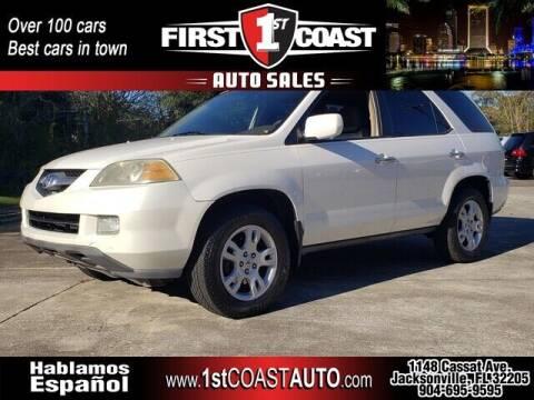 2004 Acura MDX for sale at 1st Coast Auto -Cassat Avenue in Jacksonville FL