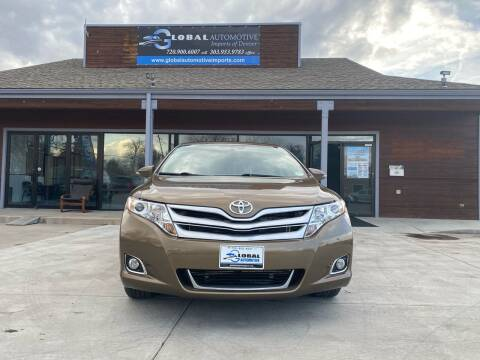 2013 Toyota Venza for sale at Global Automotive Imports of Denver in Denver CO