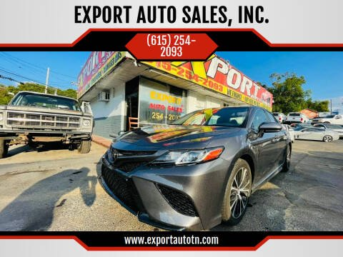 2020 Toyota Camry for sale at EXPORT AUTO SALES, INC. in Nashville TN