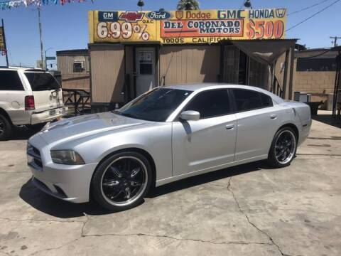 2012 Dodge Charger for sale at DEL CORONADO MOTORS in Phoenix AZ