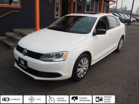 2012 Volkswagen Jetta for sale at Sabeti Motors in Tacoma WA