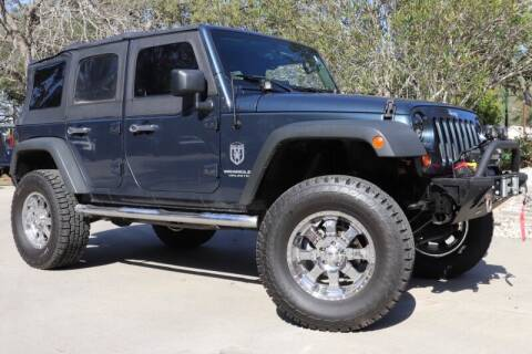 2008 Jeep Wrangler Unlimited for sale at SELECT JEEPS INC in League City TX