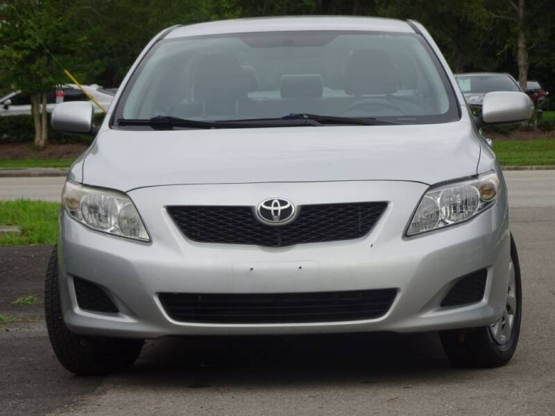 2009 Toyota Corolla for sale at Deal Maker of Gainesville in Gainesville FL