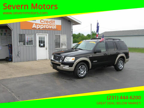 2008 Ford Explorer for sale at Severn Motors in Cadillac MI