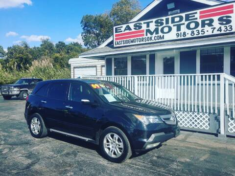 2009 Acura MDX for sale at EASTSIDE MOTORS in Tulsa OK
