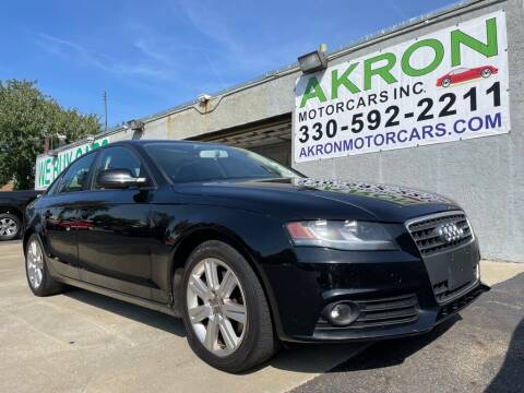 2011 Audi A4 for sale at Akron Motorcars Inc. in Akron OH