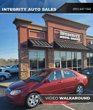 2008 Kia Spectra for sale at INTEGRITY AUTO SALES in Clarksville TN