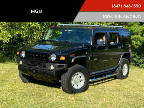 2004 HUMMER H2 for sale at MGM CLASSIC CARS in Addison, IL