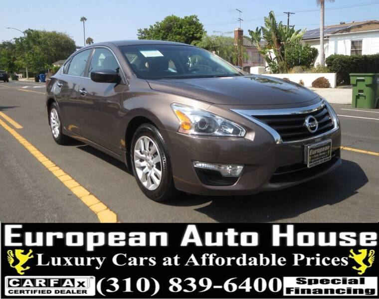 2015 Nissan Altima for sale at European Auto House in Los Angeles CA