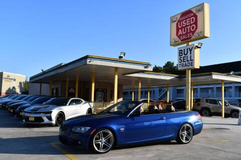 2012 BMW 3 Series for sale at Houston Used Auto Sales in Houston TX