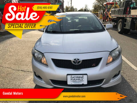 2010 Toyota Corolla for sale at Gondal Motors in West Hempstead NY