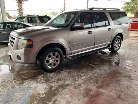 2008 Ford Expedition EL for sale at M & M Motors in Angleton TX