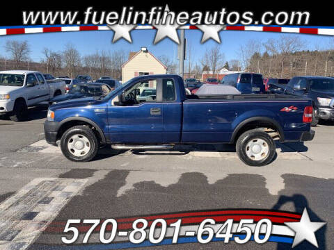2008 Ford F-150 for sale at FUELIN FINE AUTO SALES INC in Saylorsburg PA