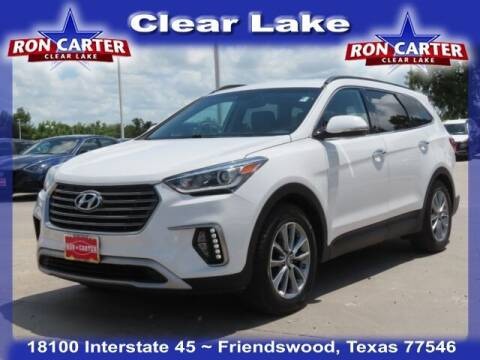 2018 Hyundai Santa Fe for sale at Ron Carter  Clear Lake Used Cars in Houston TX