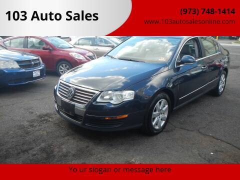 2007 Volkswagen Passat for sale at 103 Auto Sales in Bloomfield NJ