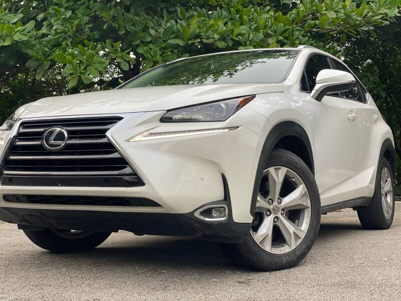 2017 Lexus NX 200t for sale at HIGH PERFORMANCE MOTORS in Hollywood FL