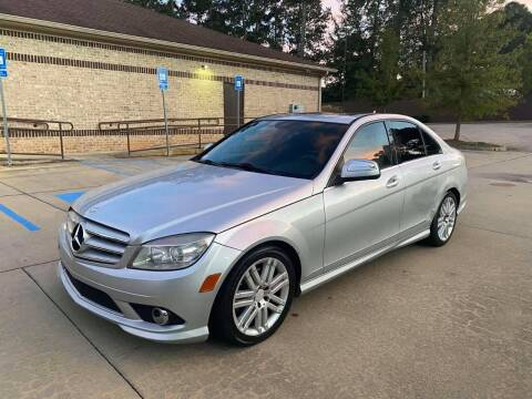 2009 Mercedes-Benz C-Class for sale at Two Brothers Auto Sales in Loganville GA