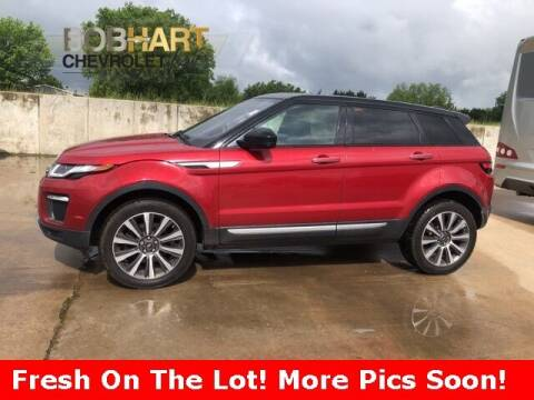 2017 Land Rover Range Rover Evoque for sale at BOB HART CHEVROLET in Vinita OK