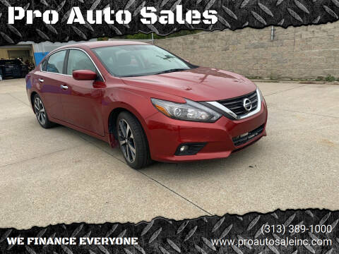 2016 Nissan Altima for sale at Pro Auto Sales in Lincoln Park MI